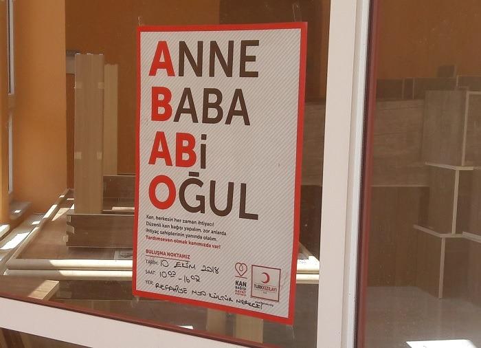 Okulumuzda Kızılay Kan Bağışı Yapıldı